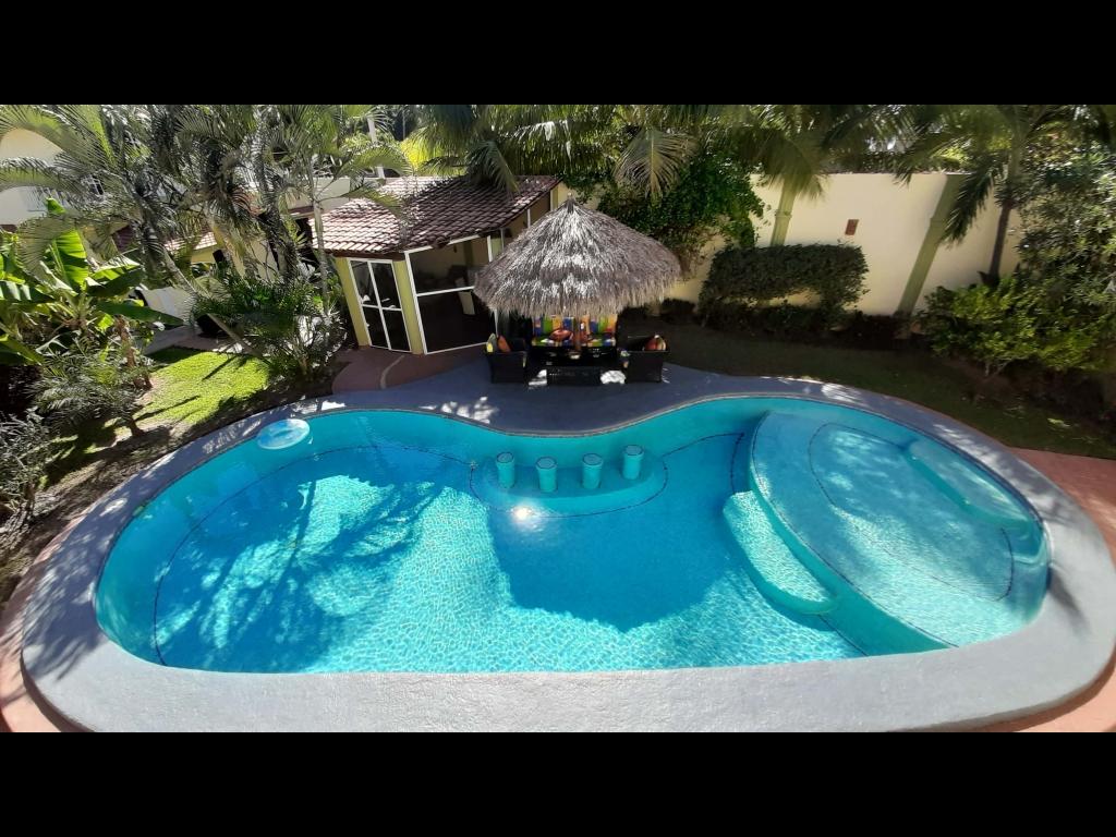 Pool with Atrium